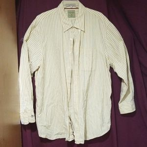 Men's Big Size Button Down Shirt